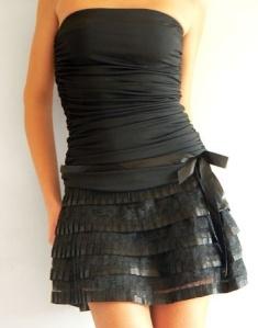 Une jupe noire