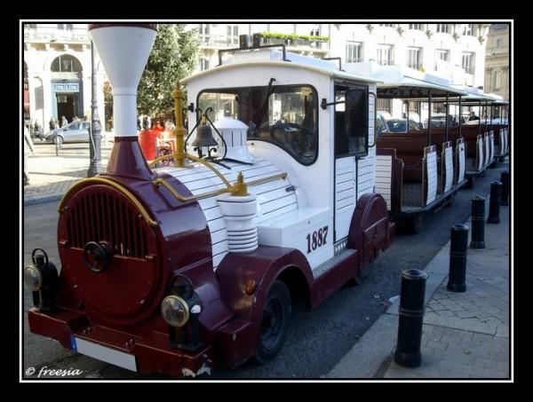 Bordeaux - train touristique