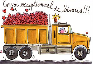 camion bisous