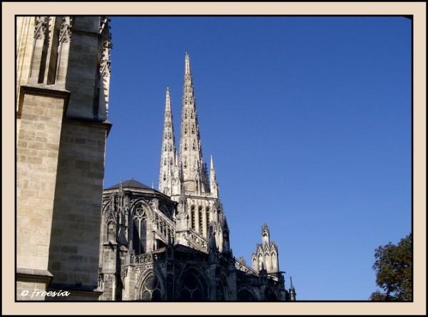 Bordeaux - La cathédrale Saint-André