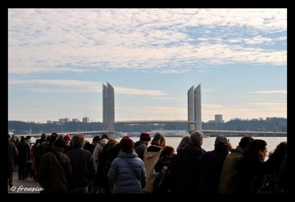 Bordeaux - Inauguration du pont Chaban-Delmas 1