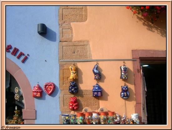 Alsace - Kaysersberg, objets traditionnels mini
