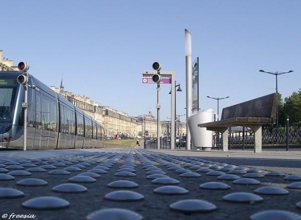Bordeaux - Porte de Bourgogne - au ras du sol