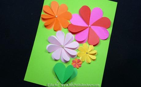 carte-fleur-fete-des-meres-bricolage-papier-avec-coeurs-perfo
